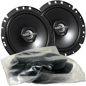 JVC CS-J 1720X Car Fit 17cm Koax Lautsprecher Paar für VW Beetle Fox Lupo Tür