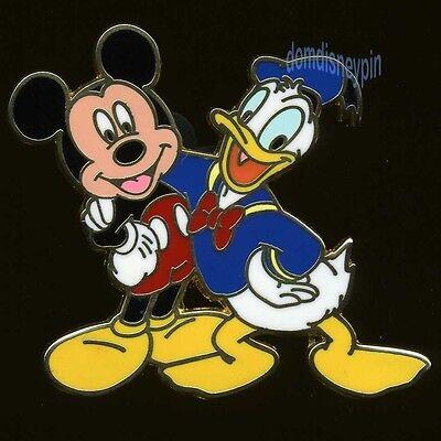 Disney Pin *Mickey Mouse & Friends* Starter Set - Mickey & Donald!