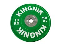 Bumper Olympic Weight Plates 10kg x 2 - Brand New Boxed