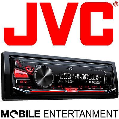 JVC KD-X141 Mp3 USB AUX-IN Autoradio ohne CD-Laufwerk 4x50W - Android Steuerung