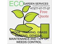 ECO Garden Services, hedge trimming, power washing