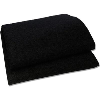 LT 1500.1 Lautsprecherteppich schwarz - Stoff Boxen Hutablage Teppich