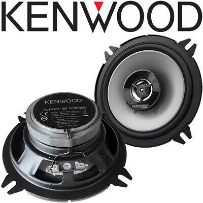 Kenwood KFC-S1366 13cm Lautsprecher Paar für Smart Forfour Typ W454 2004-2006