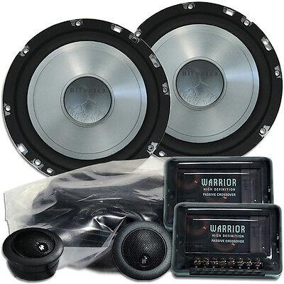 Hifonics WR 165mm Lautsprecher für Mercedes SLK R170 Tür