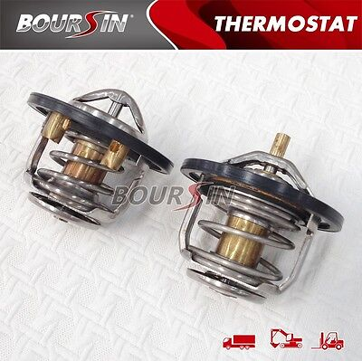 Isuzu Work Truck (Engine Coolant Thermostat For ISUZU 6HK1 6HE1 FRR FSR FTR TRUCK, Warranty 1 PAIR )