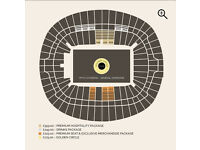 Adele 29th June Wembley Golden Circle Tickets x 2 Gold