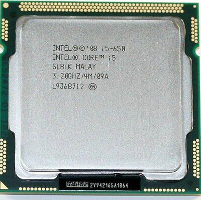 Intel CPU Core i5-650 3.2GHZ/4M LGA 1156
