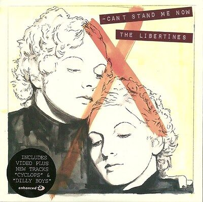 Limited Edition CD Single 1    THE LIBERTINES   Can't Stand Me Now    NEW / MINT