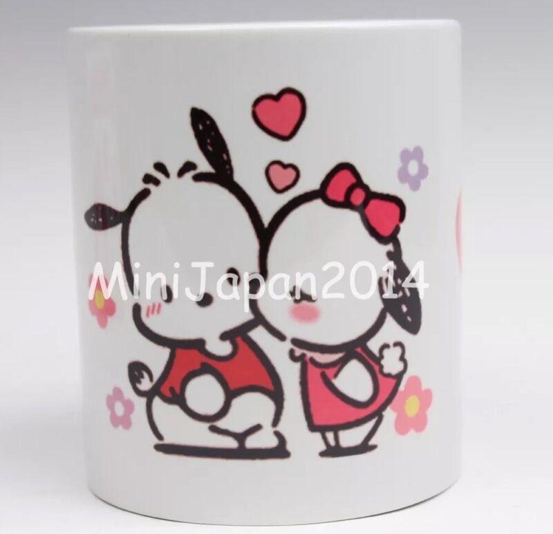 Pochacco puppy Kiss me cute 11 oz cup coffee mug Japan Anime US Seller