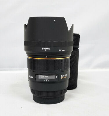 # Sigma EX 85mm f/1.4 HSM DG EX Lens For For Canon (s/n 4121)