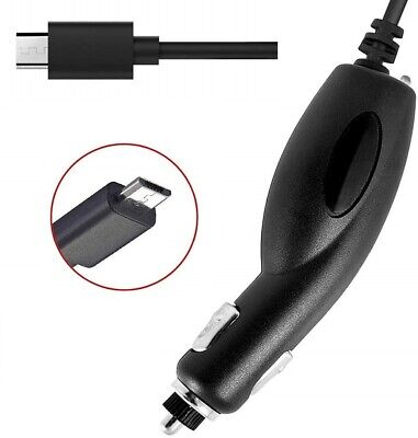 MICRO USB CELL PHONE CAR CHARGER ACCESSORY FOR VERIZON MOTOR