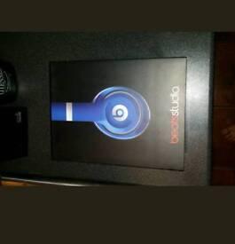 Beats by dre studio 2.0 headphones blue