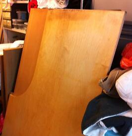 office right corner desk Ikea adjustable legs