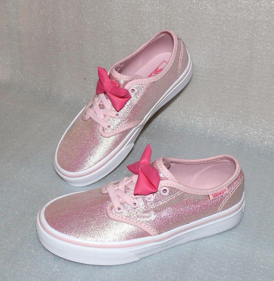 Vans Camden Stripe Z'S Kinder Schuhe Freizeit Sneaker EU 31 UK13 BOW Light Pink