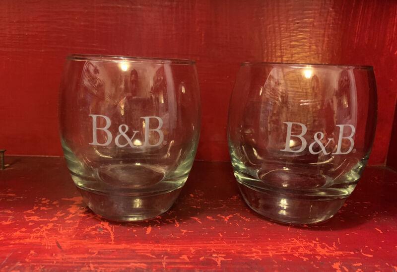 Set of {2} B & B Benedictine/Brandy Liqueur Glasses