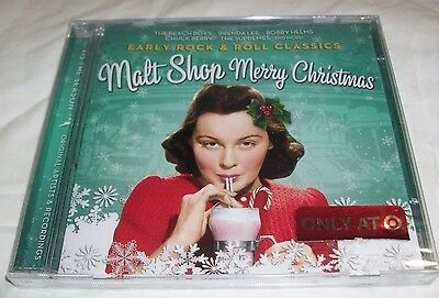 Early ROCK & ROLL CLASSICS Malt Shop CHRISTMAS Music CD Sealed TARGET Exclusive ()