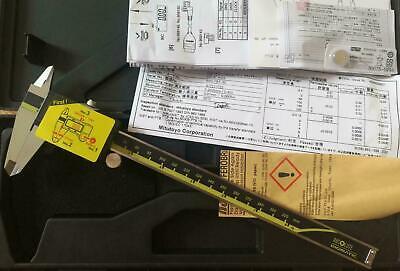 Absolute Digimatic Caliper Mitutoyo 0-8 0-200mm 500-197-30 New 0.00050.01