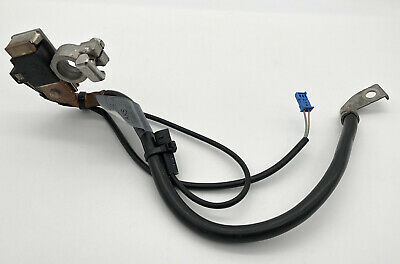 BMW OEM E60 E61 E63 E64 E90 E91 E92 E70 REAR TRUNK BATTERY NEGATIVE CABLE IBS