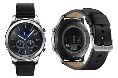 Samsung Gear S3 Classic Smart Watch Black Bluetooth + 4G AT&T SM-R775A