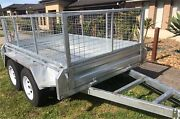 8x5 galvanised cage tandem trailer Cranbourne North Casey Area Preview