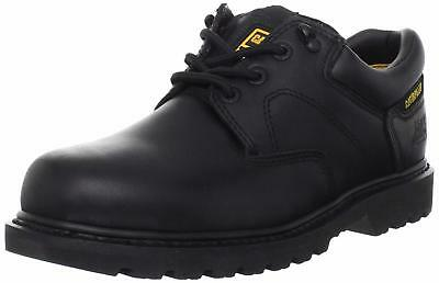 MENS CATERPILLAR RIDGEMONT OXFORD BLK STEEL TOE WORK SHOES construction goodyear Caterpillar-steel Toe Oxfords