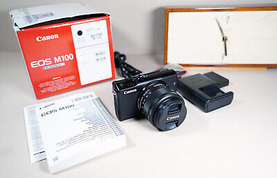 Canon EOS M100 24.2MP Kit mit 15-45mm IS STM EF-M