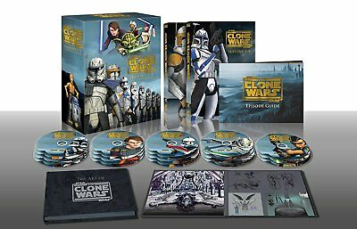 Star Wars  The Clone Wars Dvd Collectors Edition Complete Series Brand New