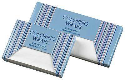 Coloring Wraps Strähnenpapier Strähnenfolie lang Strähnchen Friseur #0