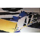 Jan Maijer (1927-1995) Abstract Lithograph DeStijl Dada Dutch Midcentury Modern