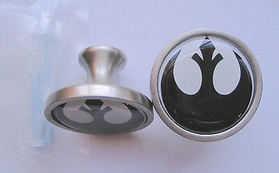 Star Wars Rebel Cabinet Knobs, Rebel Star Wars Logo Knobs, Rebel Knobs