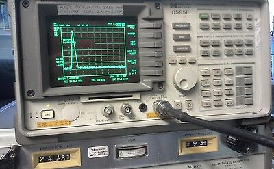 Hp 8614a Signal Generator Works Great 0.8-2.4ghz 10dbm 10mw Max Power