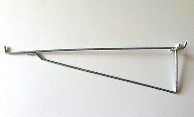 10 Pack Metal 12 Inch Shelf Bracket Garage Peg Hanger For 18 14 Pegboard