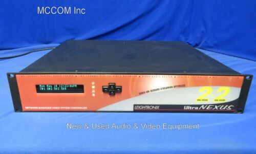 Leightronix UltraNexus 2+2 2-Channel Digital Video Server/ Recorder/ Router