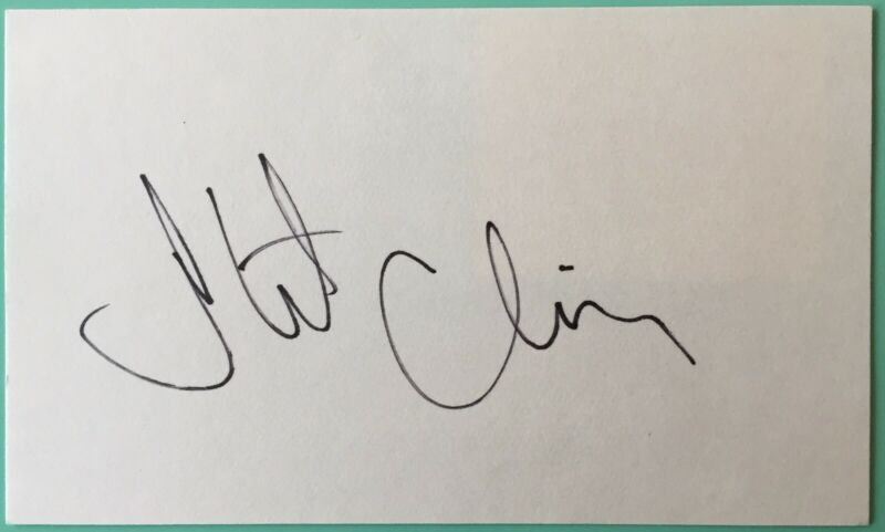Stockard Channing Signed Index Card 3X5 Betty Rizzo film Grease TV The West Wing