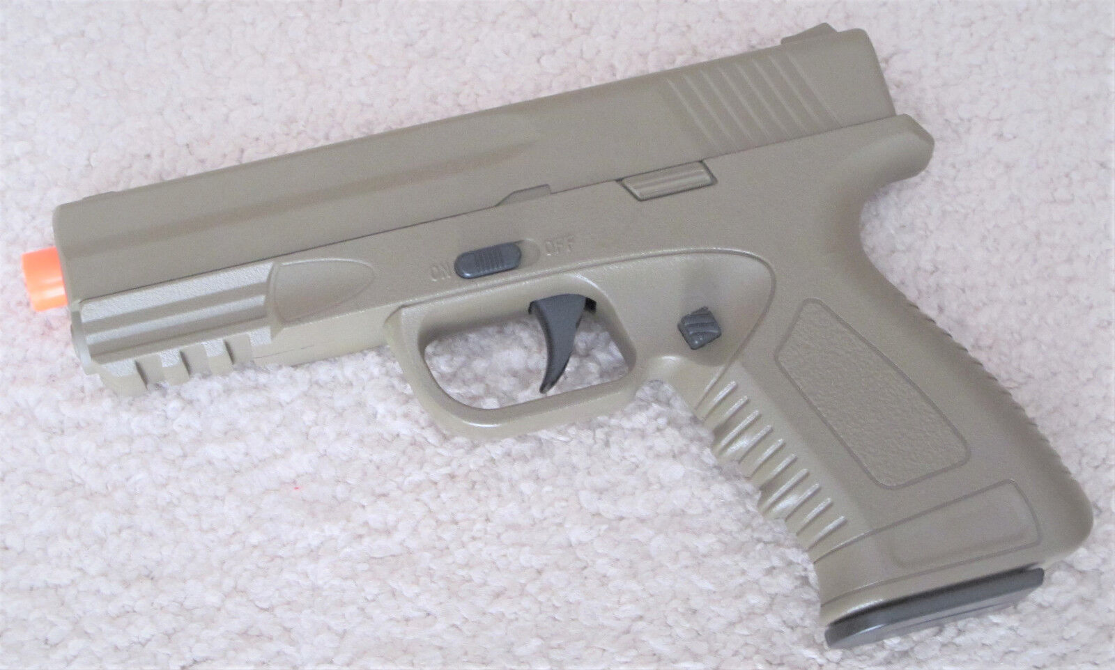 High Quality Metal Airsoft Spring Pistol Shoot up to 240 FPS