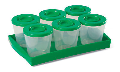 Fresh N Freeze Reusable Baby Food Storage Containers One Ste