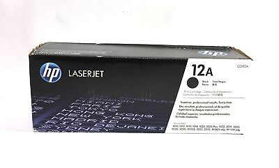 HP Laserjet 12A (Q2612A) Black Toner Cartridge- for sale  Shipping to India