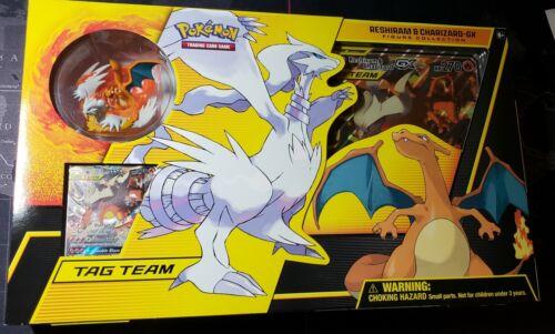 Pokemon Tcg Reshiram And Charizard Gx Box Figure Collection Unbroken Bonds