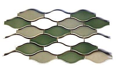 Hourglass Design 6x12 Decorative Border Wall Floor Ceramic Tile Backsplash Bath