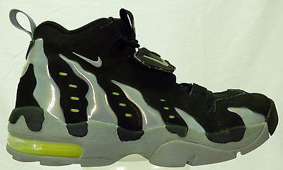 ONLY SIZE 8.5 ON EBAY NIKE DT MAX 96 DEION SANDERS BLACK VOLT GREEN 316408 004