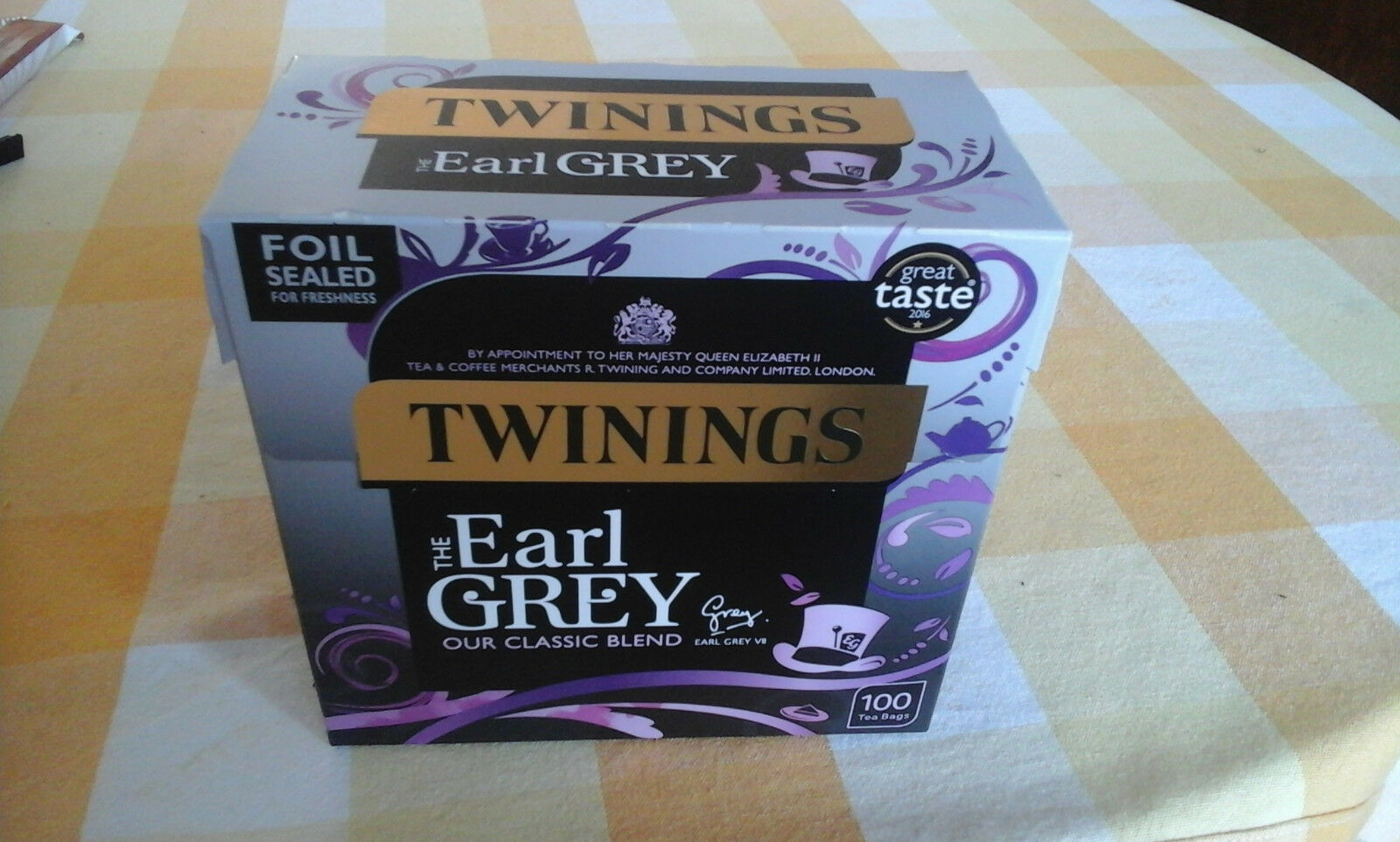 A50 Twinings Earl Grey Tea/Tee 100 Beutel (250 g) #30