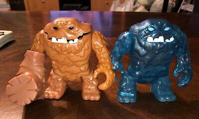 Imaginext Clay face lot ice monster Clay face With hammer 24hr Ship