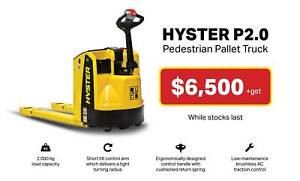 Hyster 2T Battery Electric Pedestrian Pallet Truck Springvale Greater Dandenong Preview