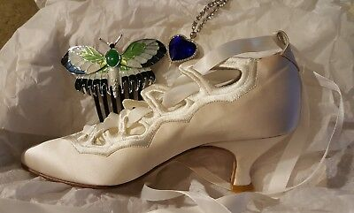TITANIC Movie -  RARE - Rose's Flying Shoes by Peter Fox Shoes - J Peterman