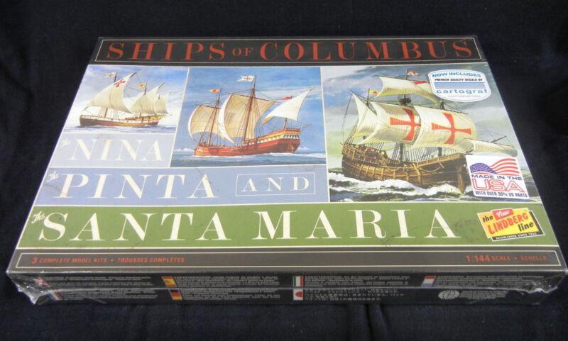 Explorer Christopher Columbus Ships Set : Niña, Pinta, and Santa María