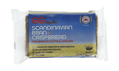 GG Scandinavian Bran Crispbread, 3.5-Ounce Packages (Pack of 15)