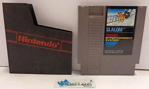 NES-Console-Gioco-Game-Play-NINTENDO-8-BIT-PAL-B-European-Version-SLALOM