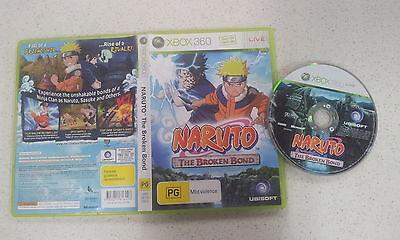Usado, Naruto The Broken Bond Xbox 360 Game USED PAL Region (999) comprar usado  Enviando para Brazil