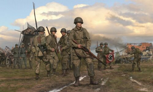 The Spoils of War by Simon Smith featuring Dick Winters & Easy Company
