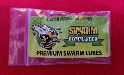 Swarm Commander Premium Swarm Lure 5 Vial Pack For Beekeeping Made In Usa.